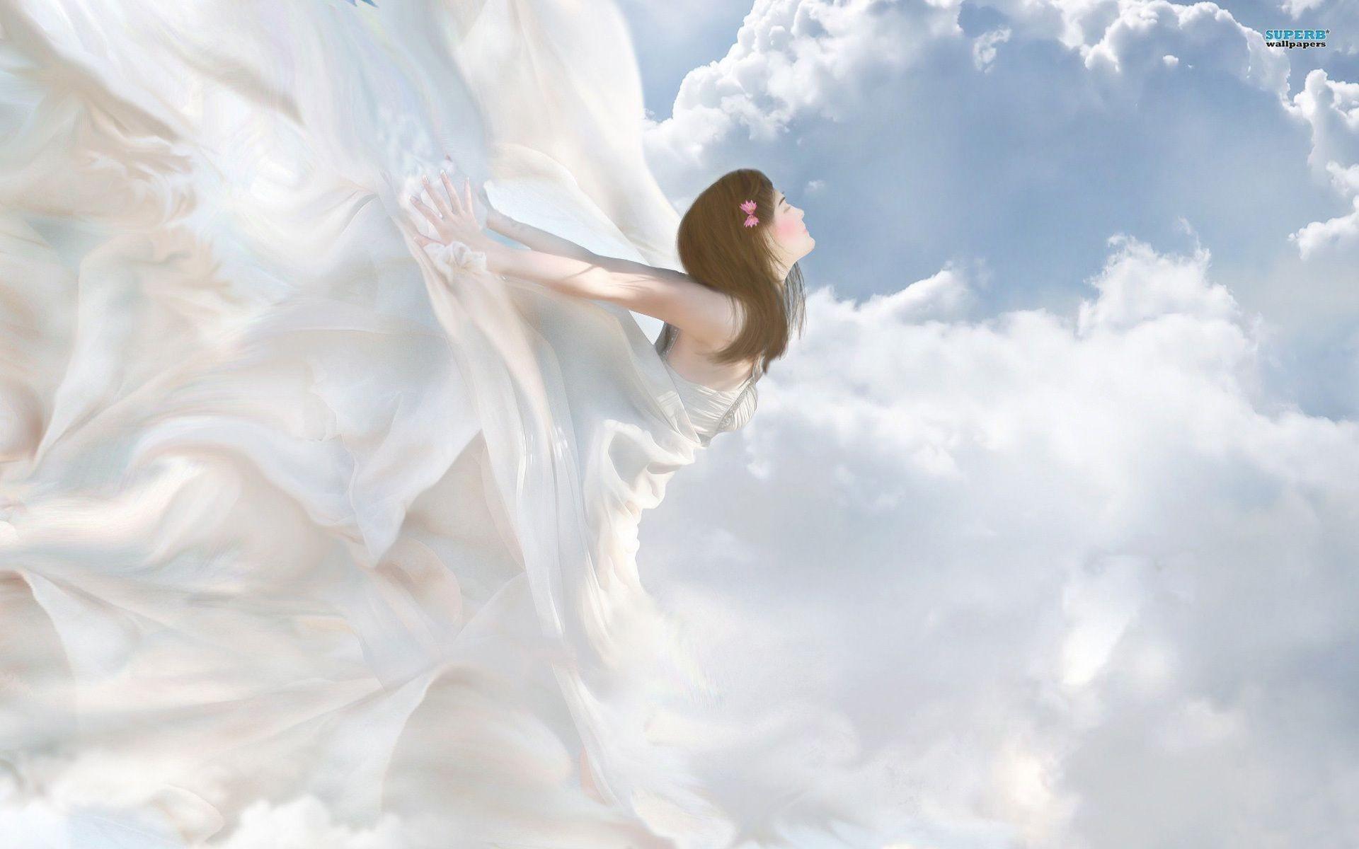 Hình ảnh thiên thần dịu dàng dễ thương
