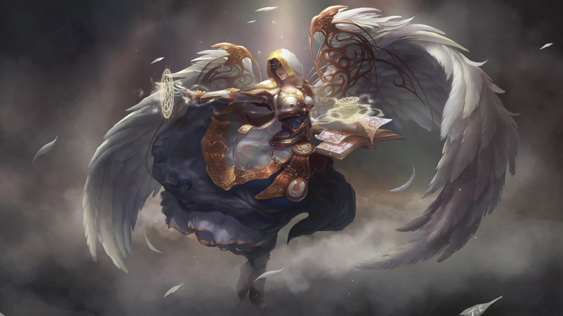 Hình ảnh thiên thần mạnh mẽ