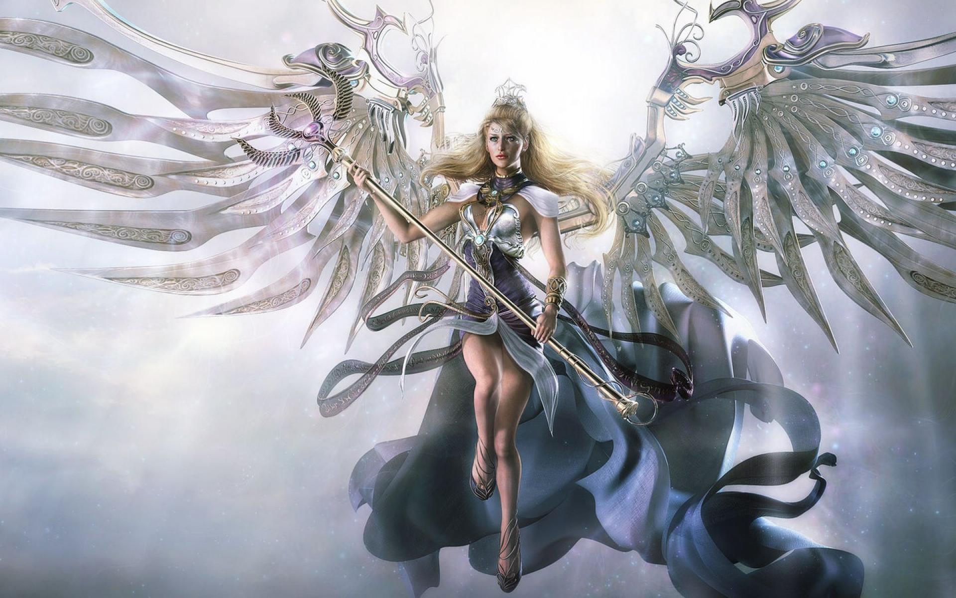 Hình ảnh thiên thần sức mạnh