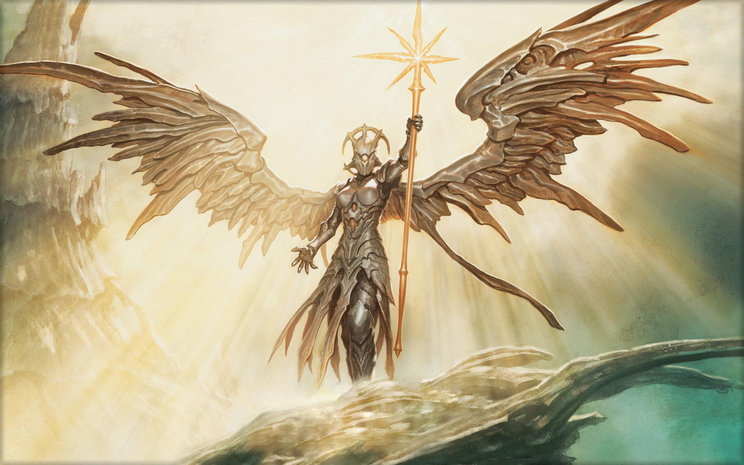 Hình ảnh thiên thần tỏa sáng