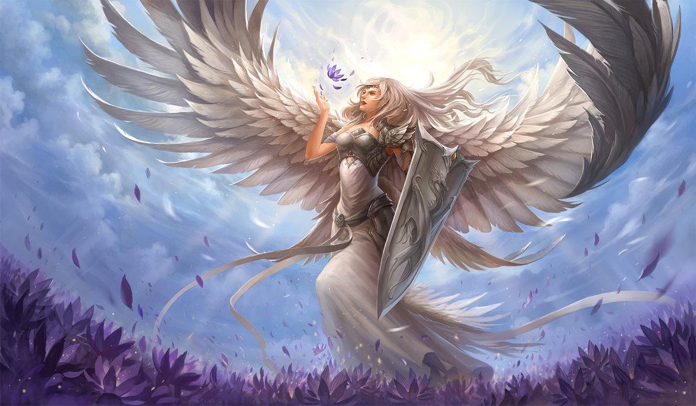 Hình ảnh thiên thần trong sáng đẹp nhất