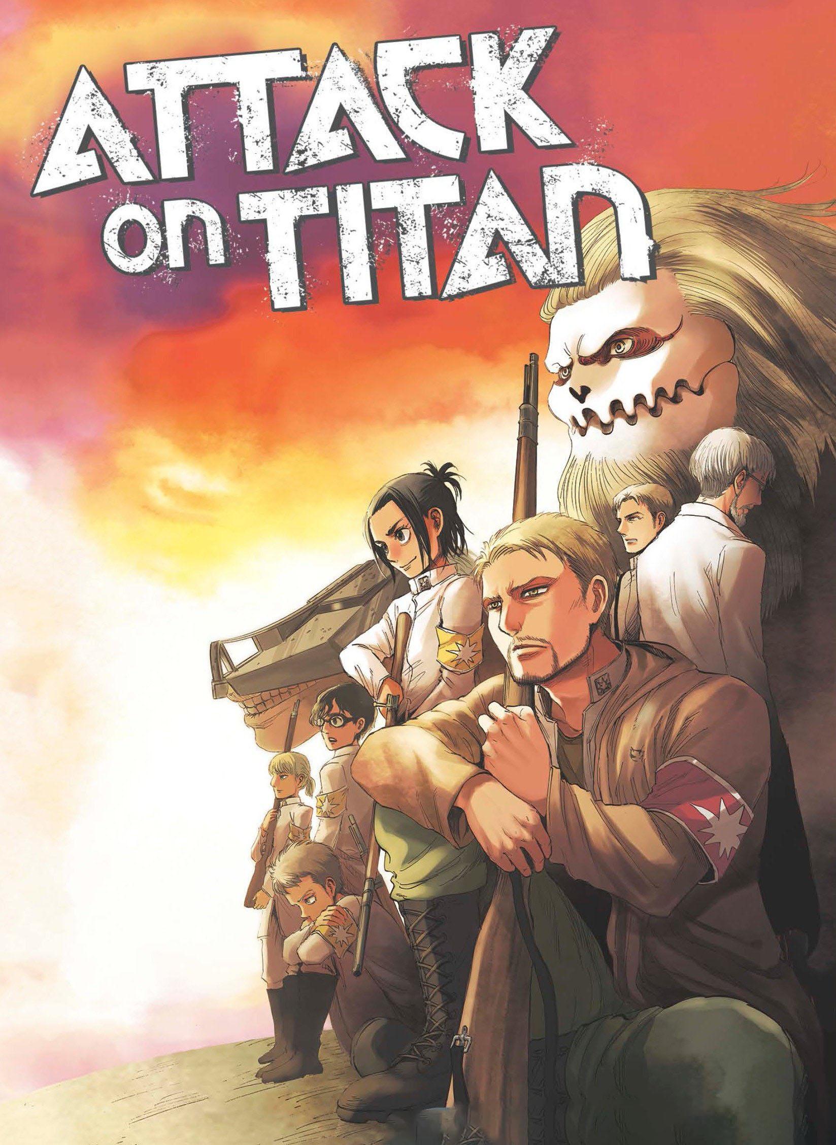 Hình ảnh truyện Attack on titan