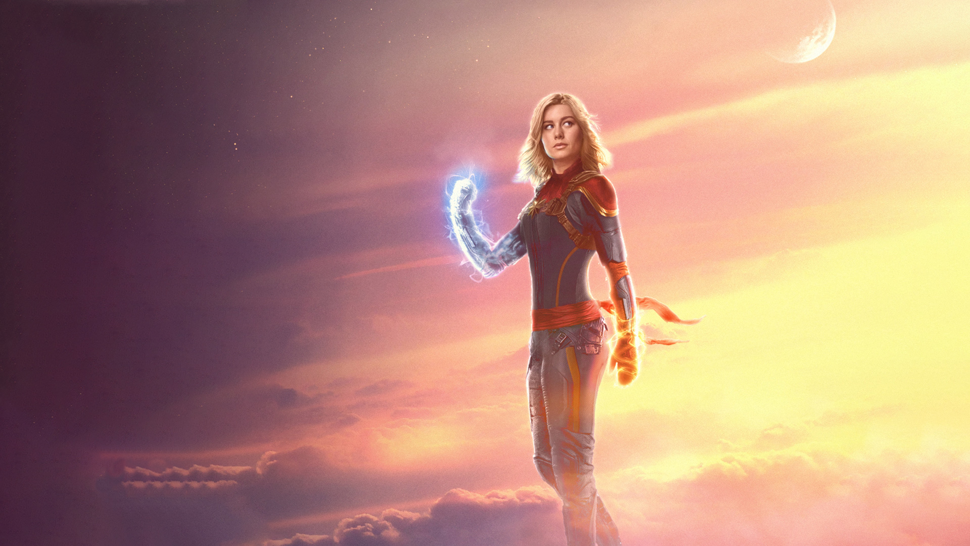 Hình Captain Marvel đẹp nhất
