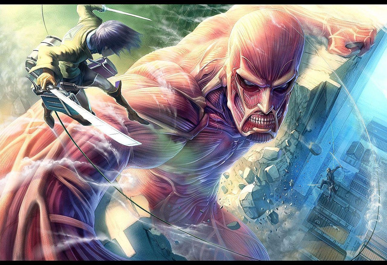 Hình đẹp Attack on titan