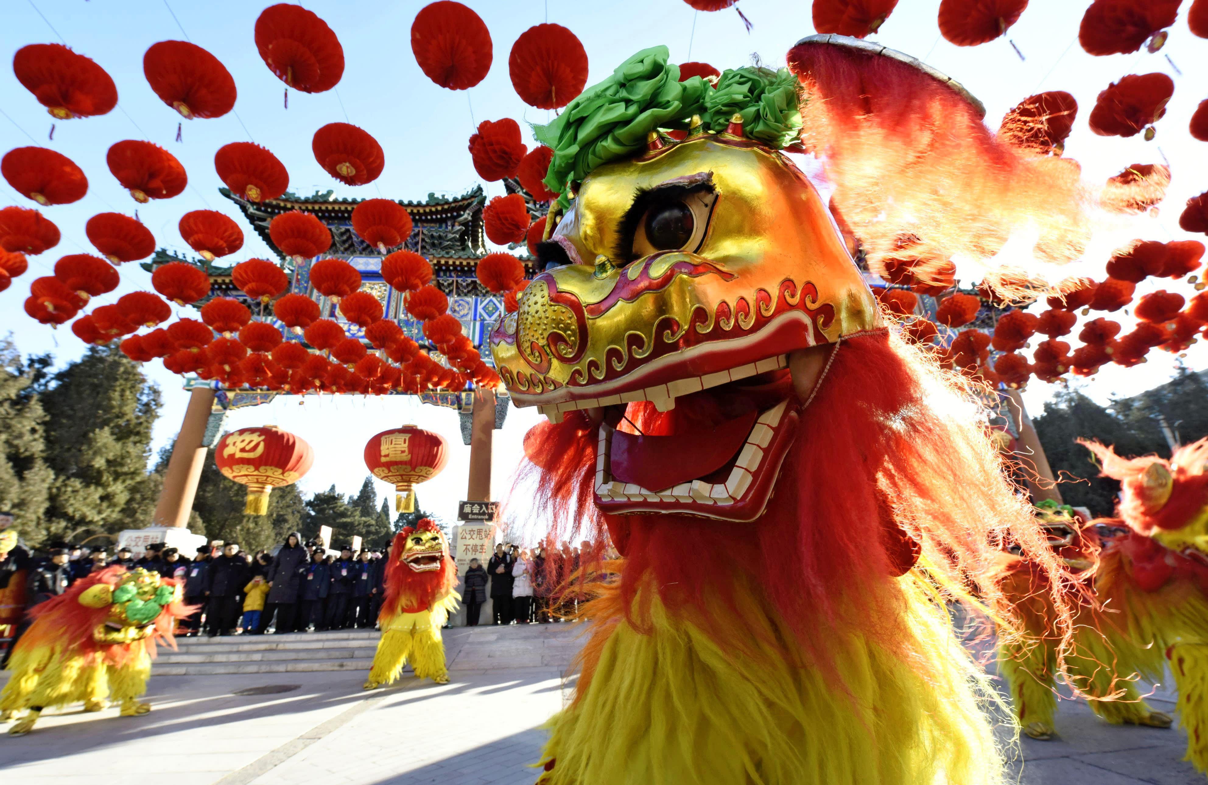 Múa Lân ngày Tết Trung Hoa