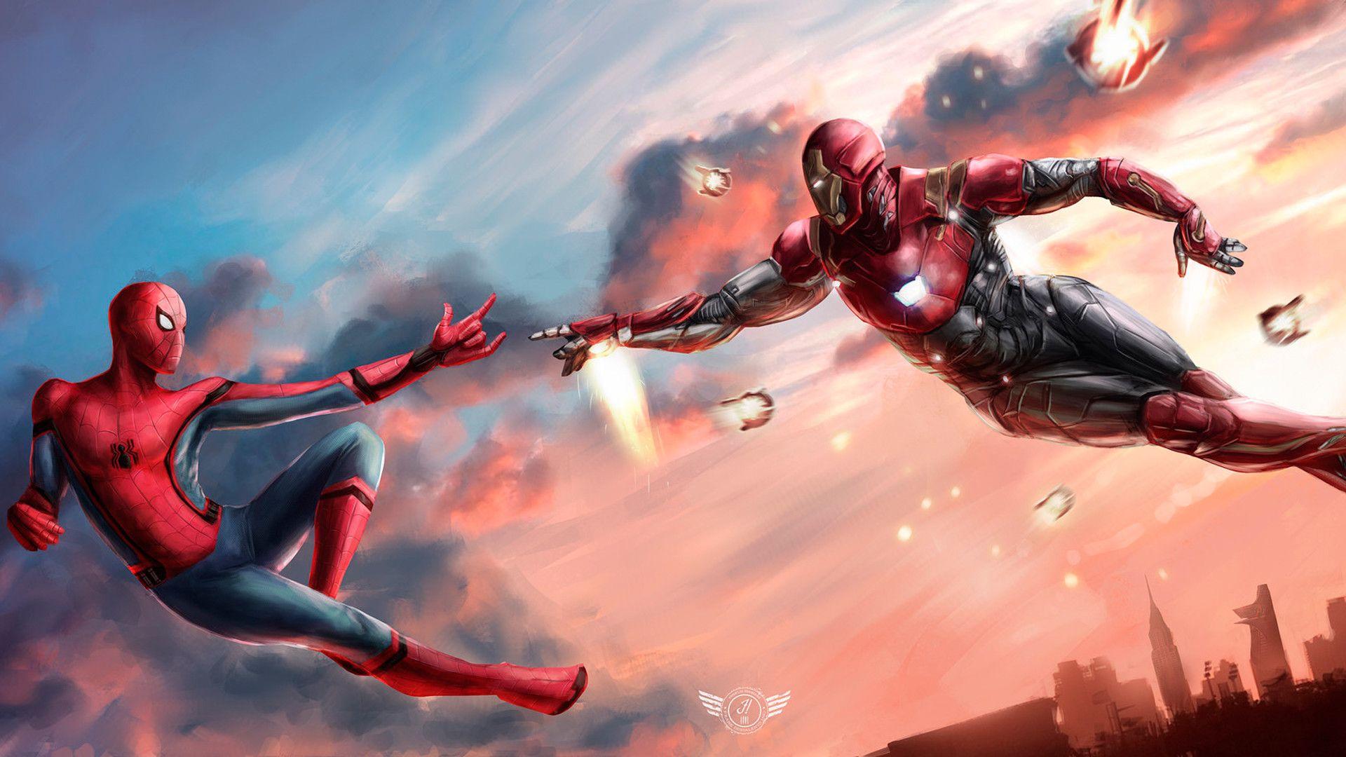 Những hình ảnh Spider Man đẹp nhất