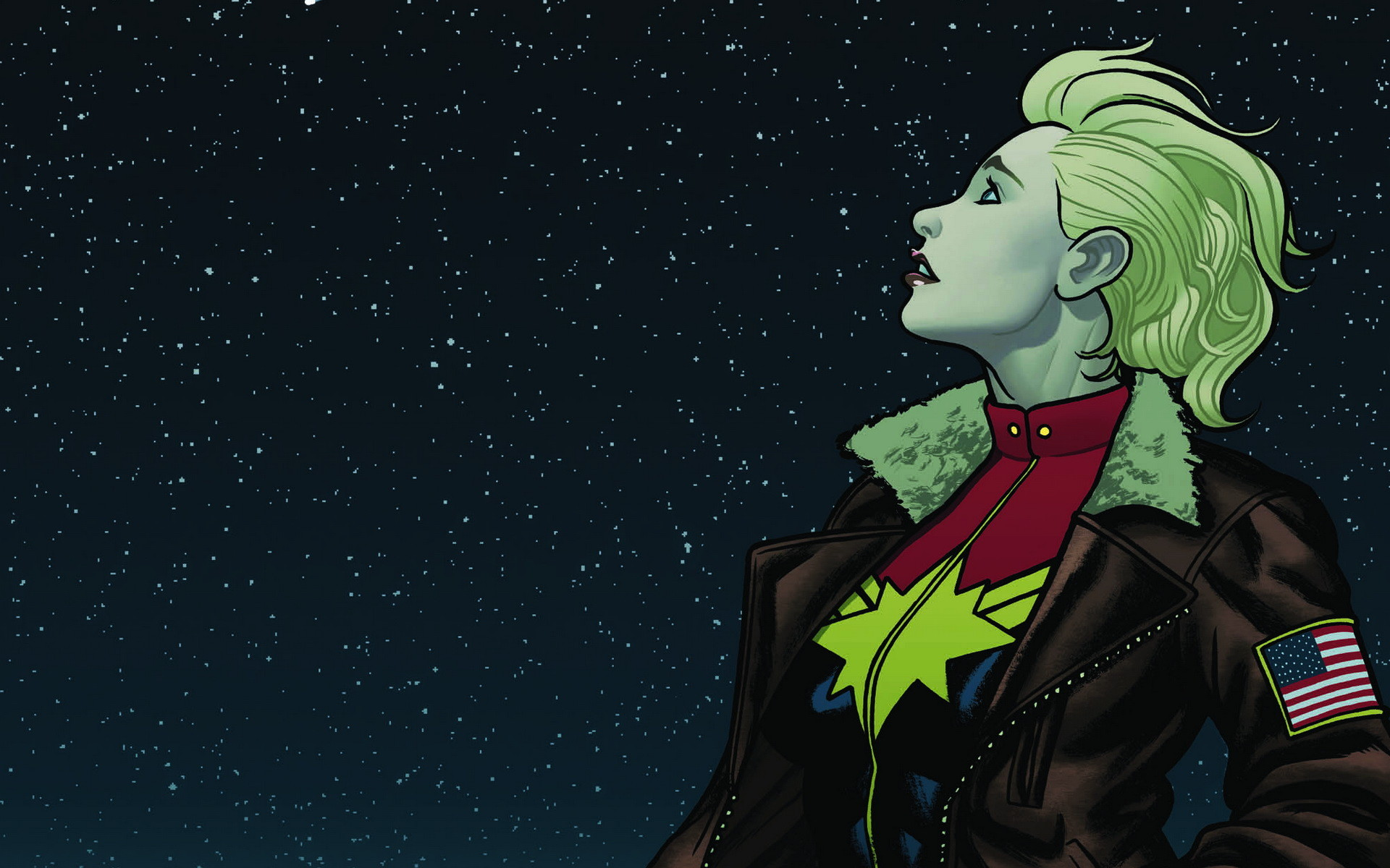 Nữ anh hùng Captain Marvel