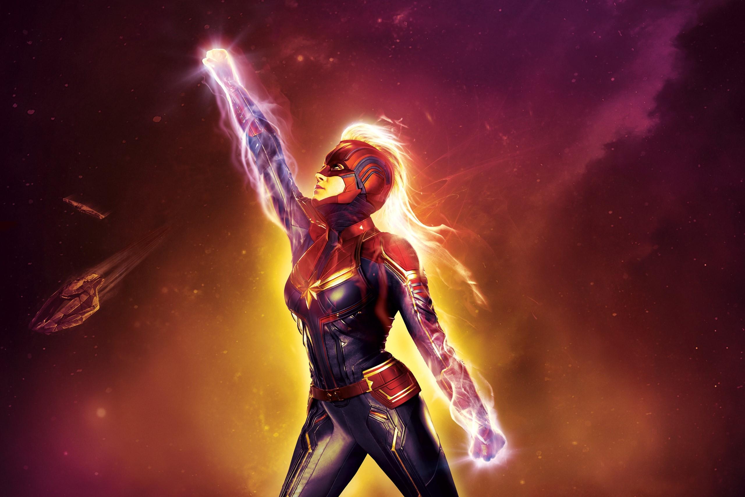 Nữ chiến binh Captain Marvel