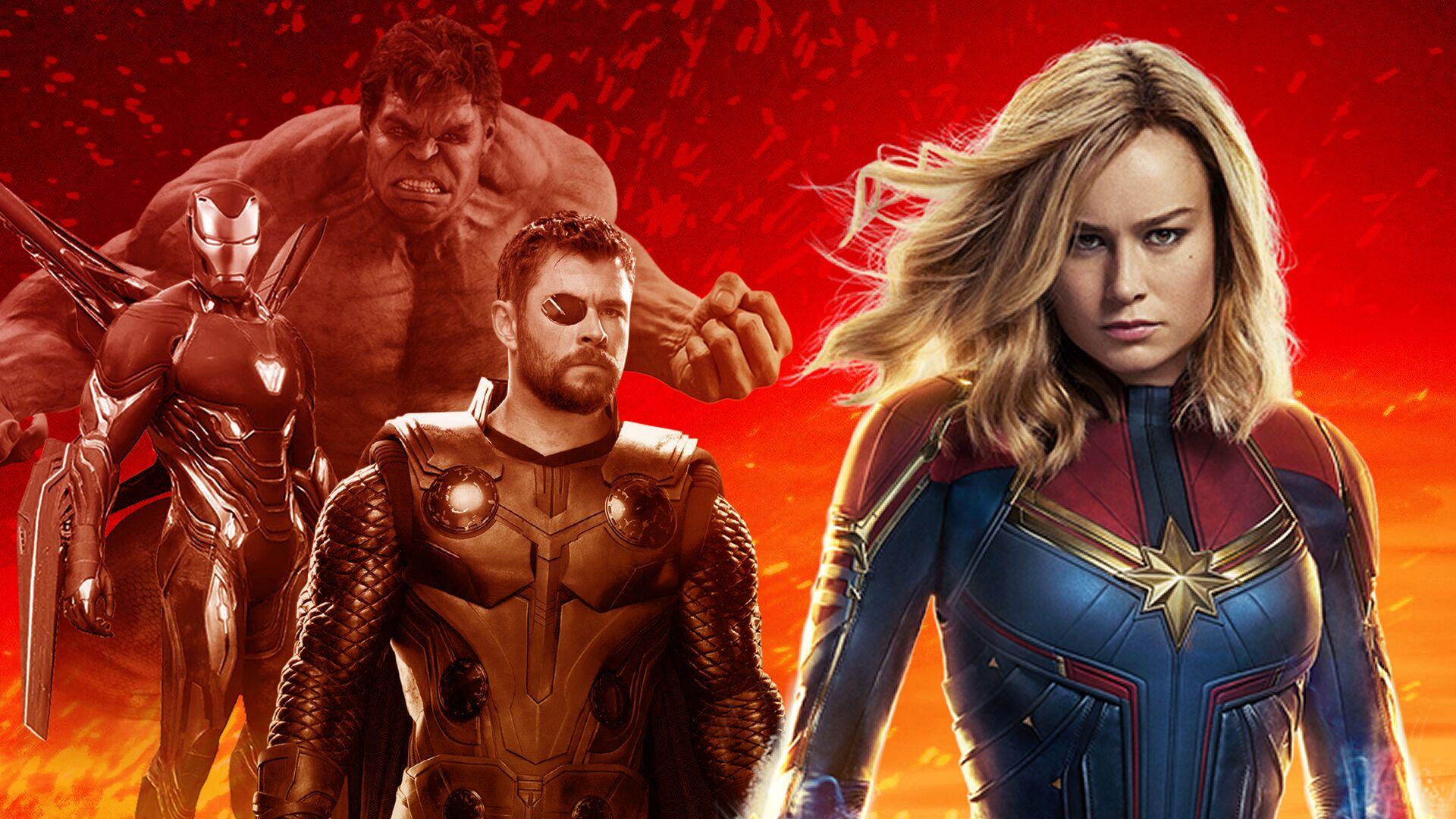 Nữ chính Captain Marvel