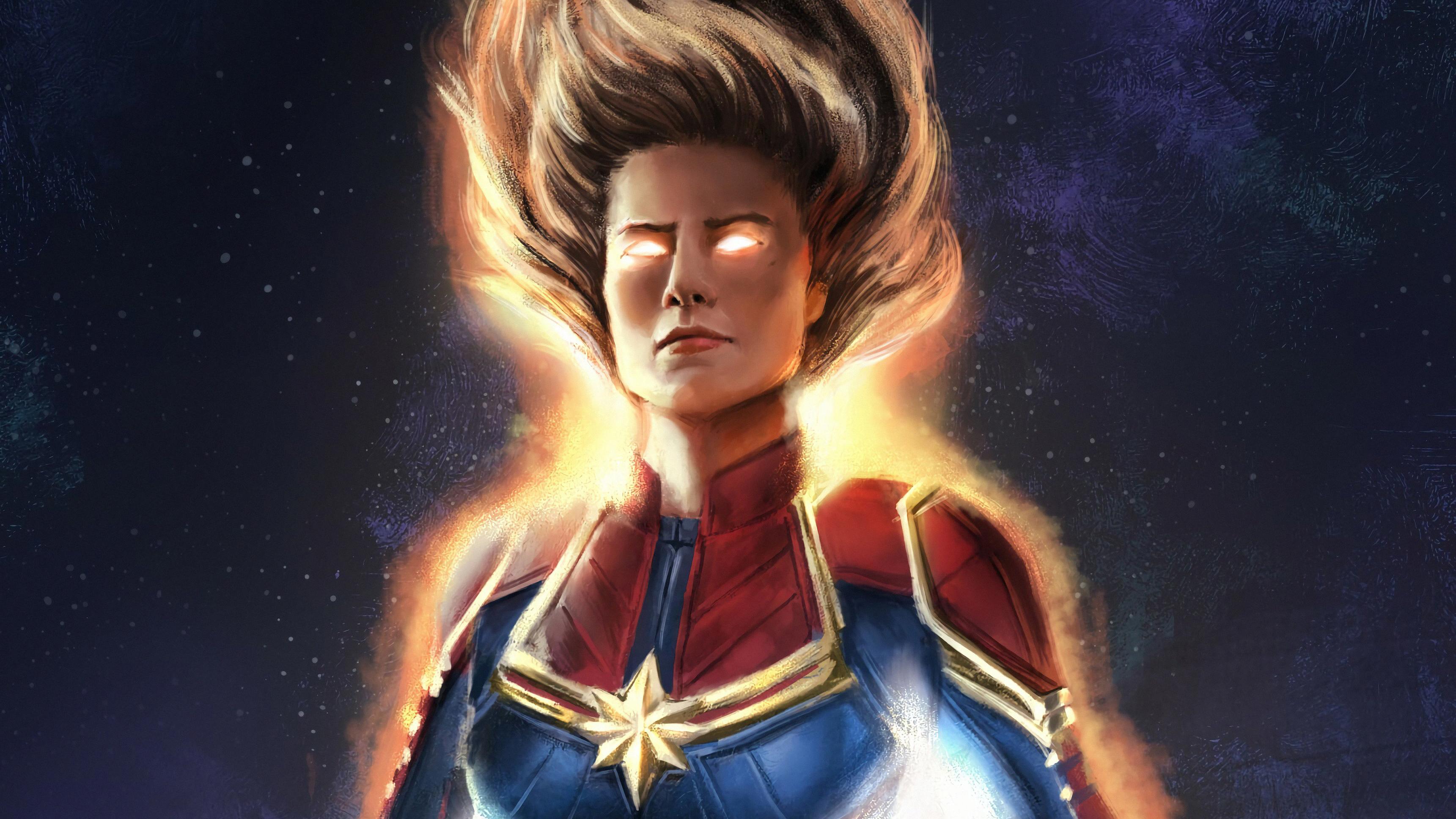 Siêu anh hùng Captain Marvel đẹp