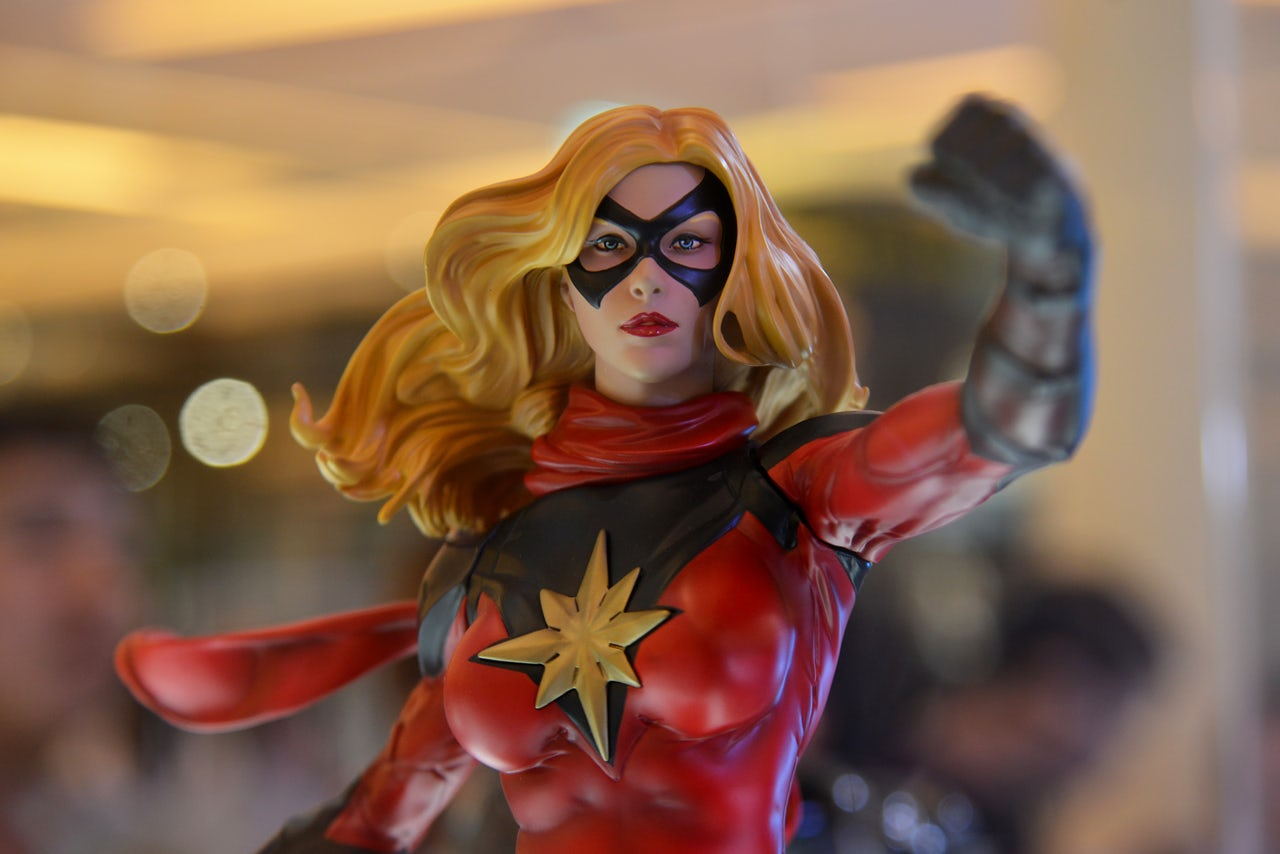 Siêu anh hùng Captain Marvel