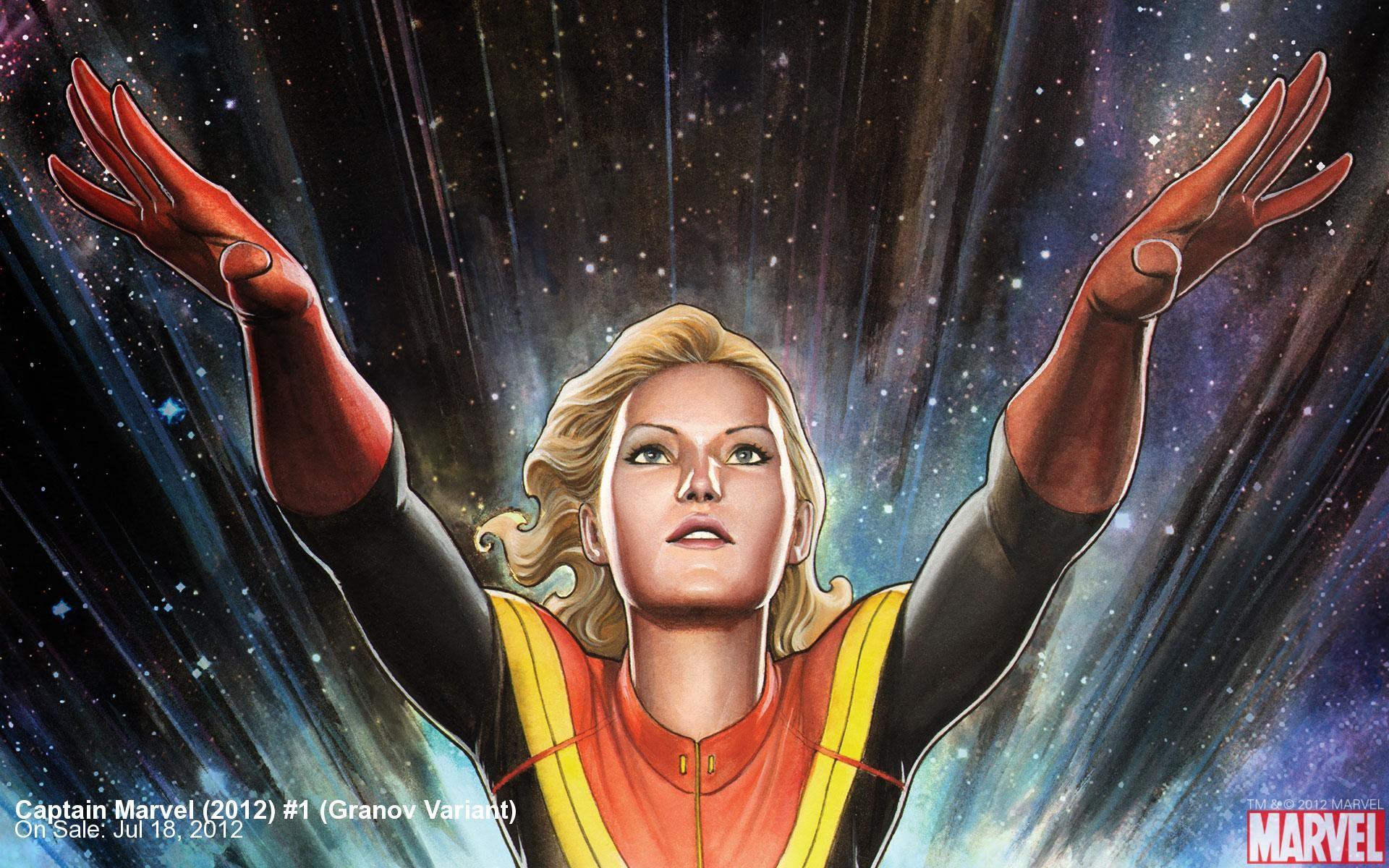 Siêu nữ anh hùng Captain Marvel