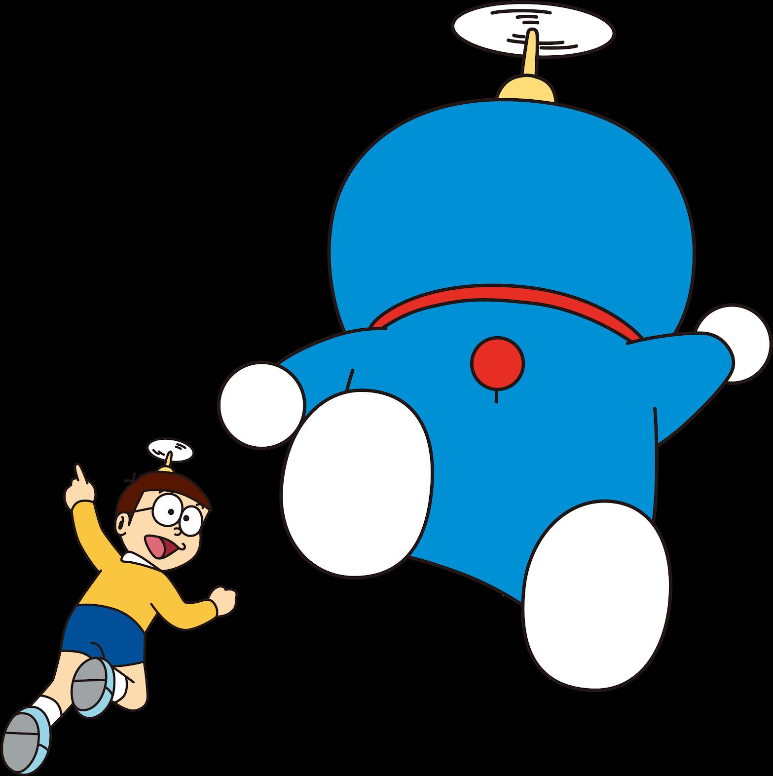 Ảnh Doremon vui cùng Nobita