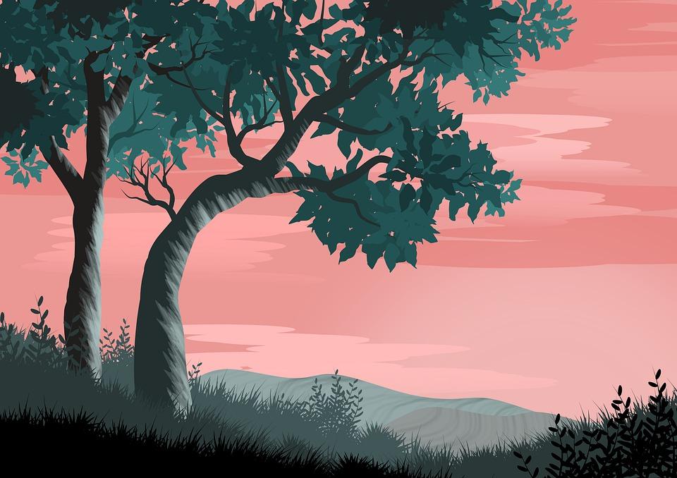 Background cảnh quan thiên nhiên