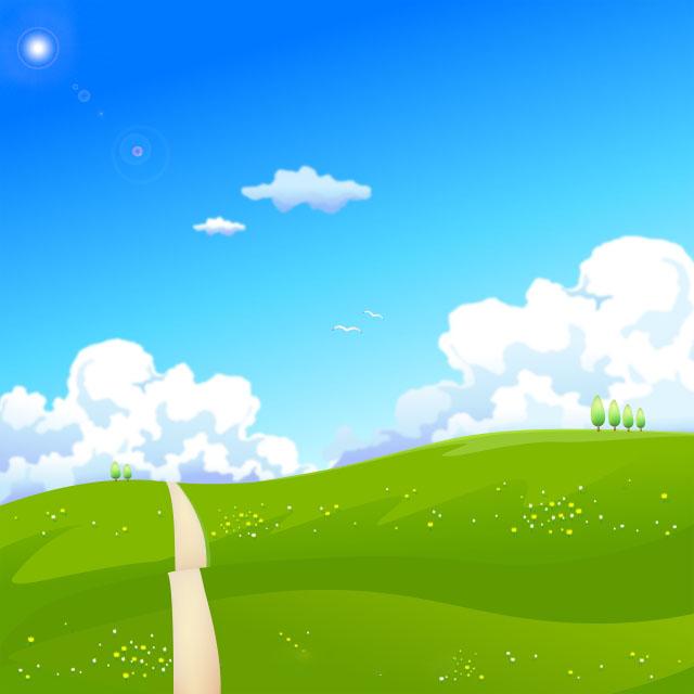 Background thiên nhiên cánh đồng