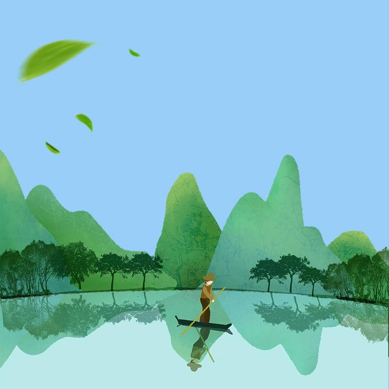 Background thiên nhiên giản dị