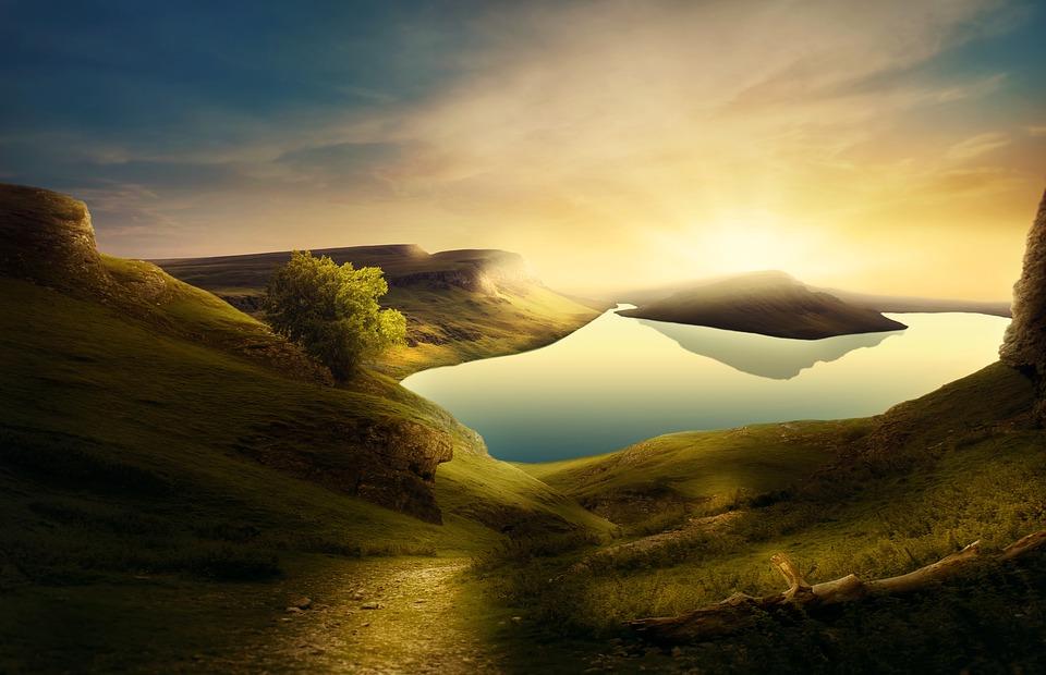 Background thiên nhiên tươi đẹp