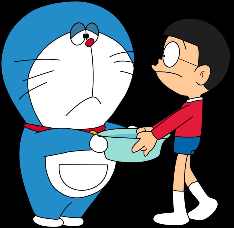 Hình ảnh Doraemon buồn
