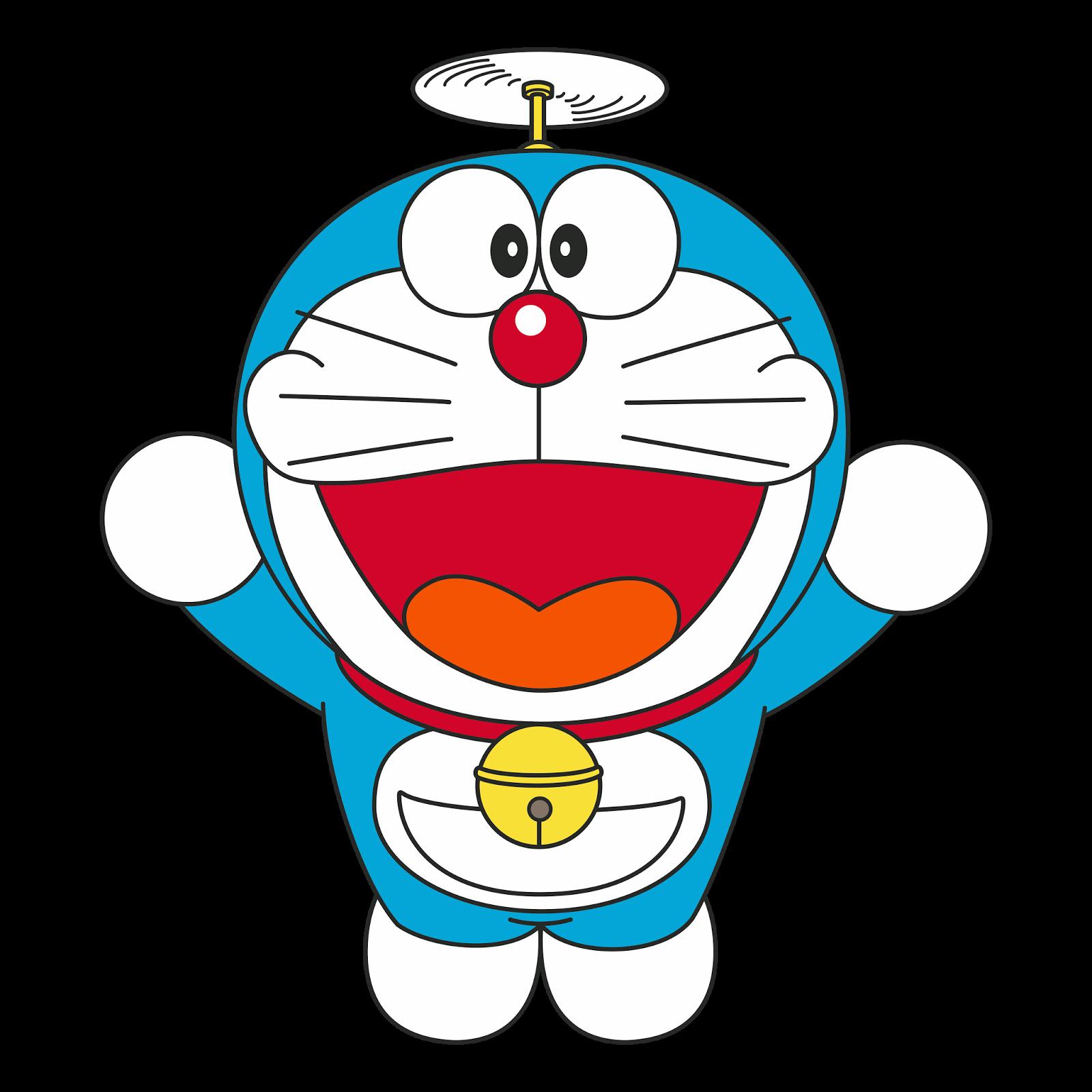 Hình ảnh Doraemon chong chóng tre