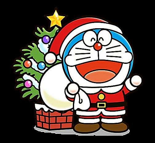 Hình ảnh Doremon giáng sinh