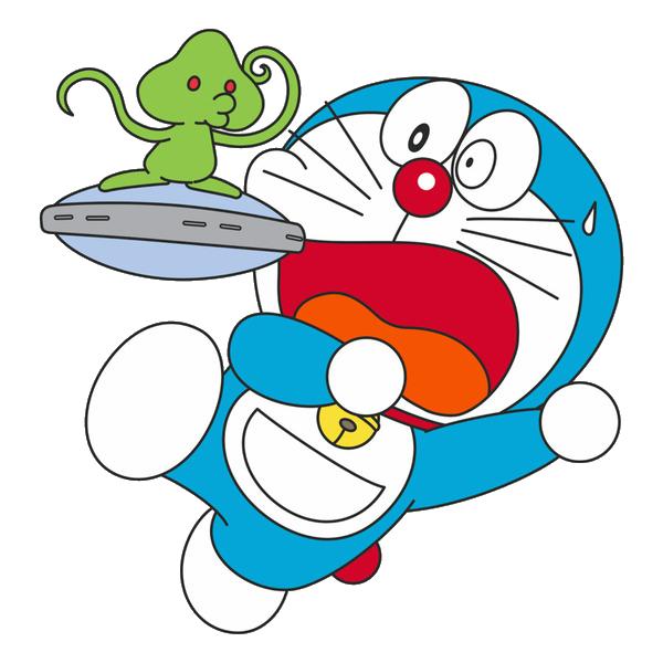 Hình ảnh Doremon và người ngoài hành tinh