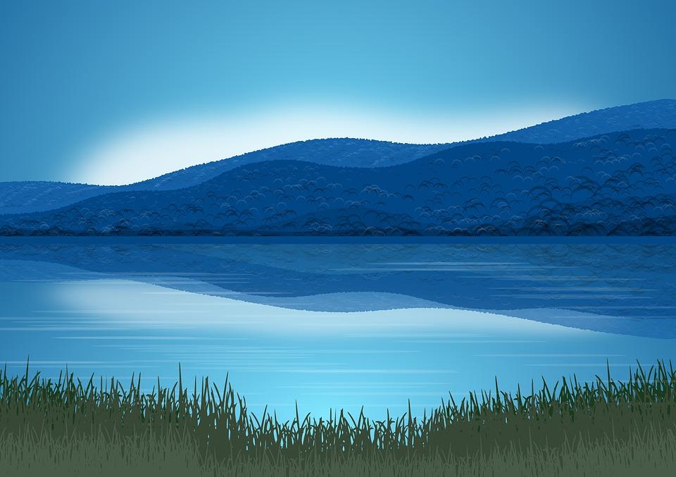 Hình background thiên nhiên đơn giản