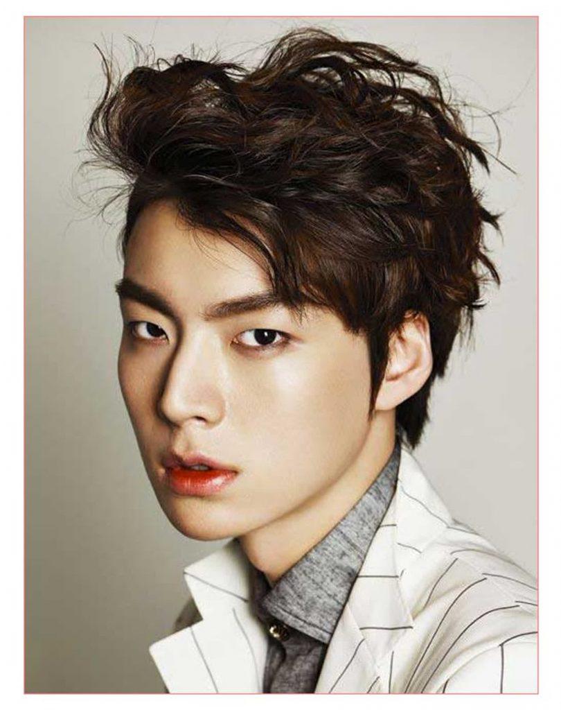 Kiểu tóc nam Hàn Quốc làm xoăn nghệ thuật