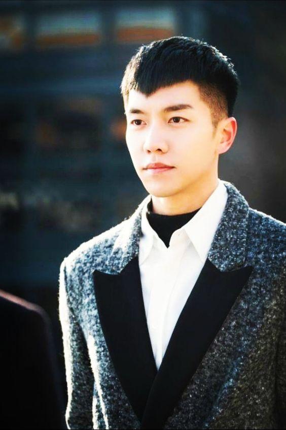 Kiểu tóc nam Hàn Quốc mái chữ M