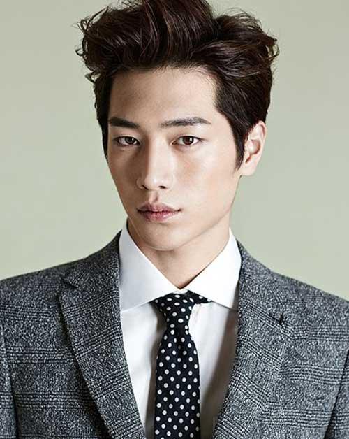 Kiểu tóc nam Hàn Quốc sang trọng