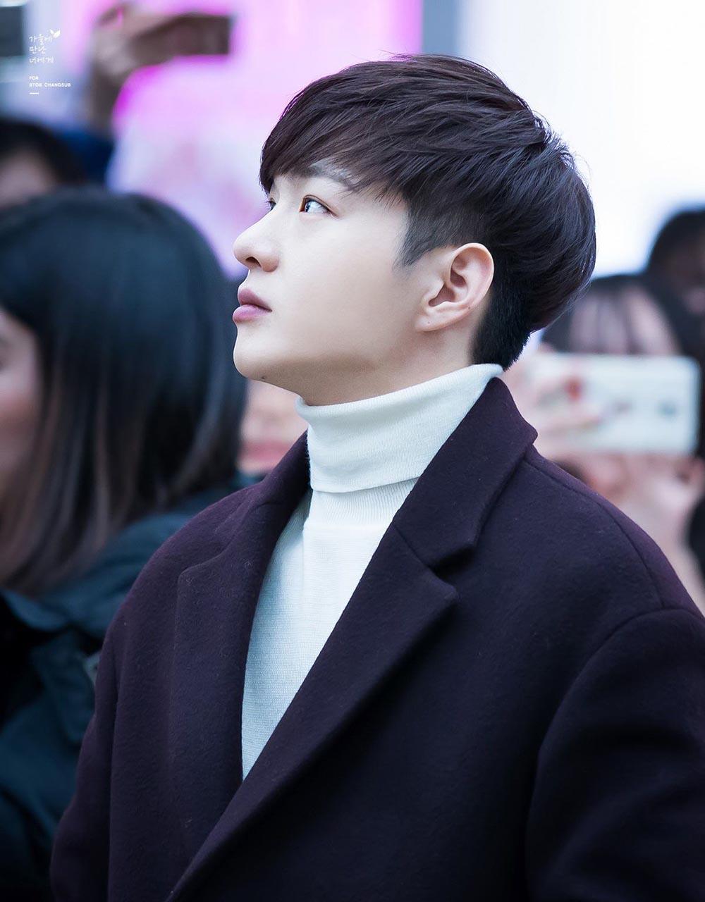Kiểu tóc nam Hàn Quốc thư sinh