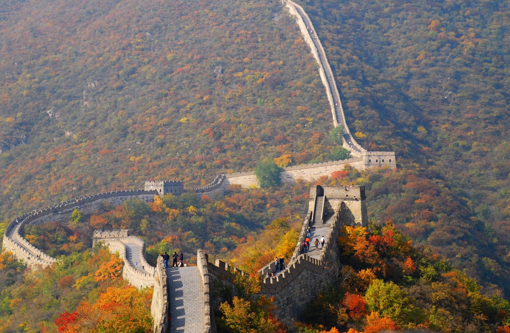 Vạn Lý Trường Thành của Trung Quốc rất đẹp