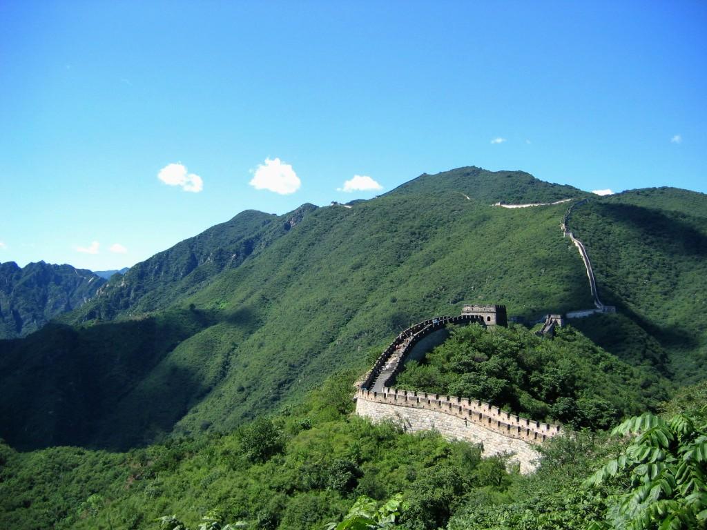 Vạn Lý Trường Thành của Trung Quốc rất hùng vĩ