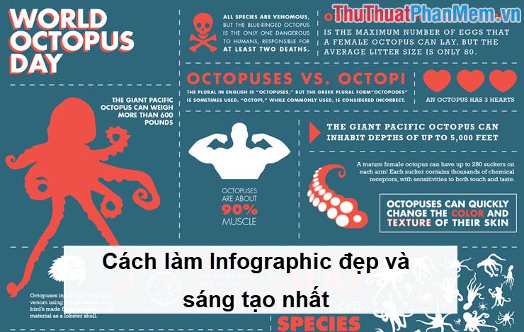 Cách làm Infographic đẹp và sáng tạo nhất