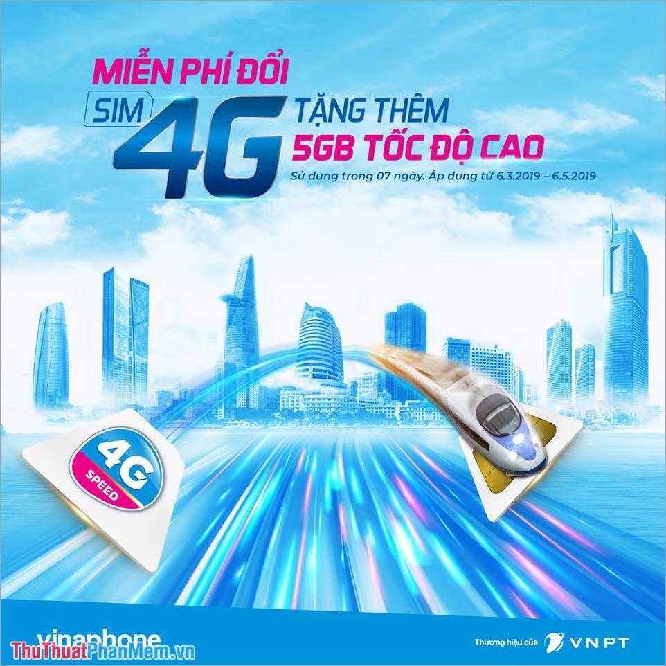 Kiểm tra dung lượng 4G VinaPhone