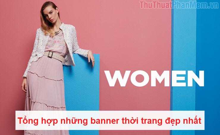 Tổng hợp những banner thời trang đẹp nhất