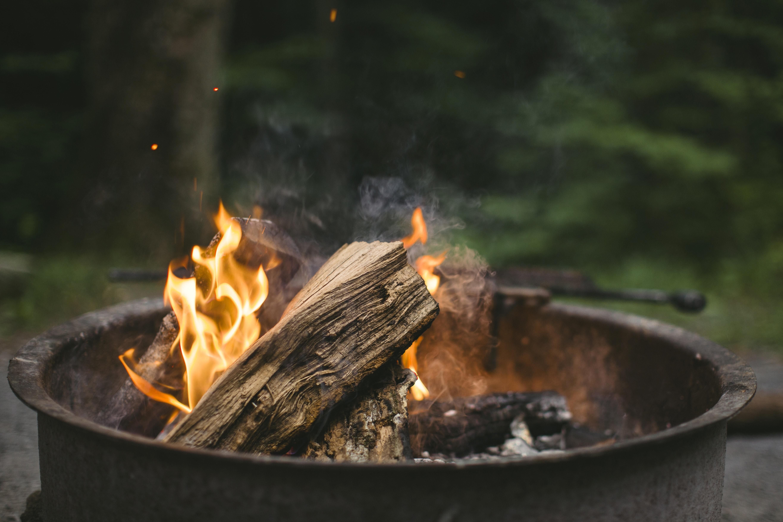Background củi lửa đẹp