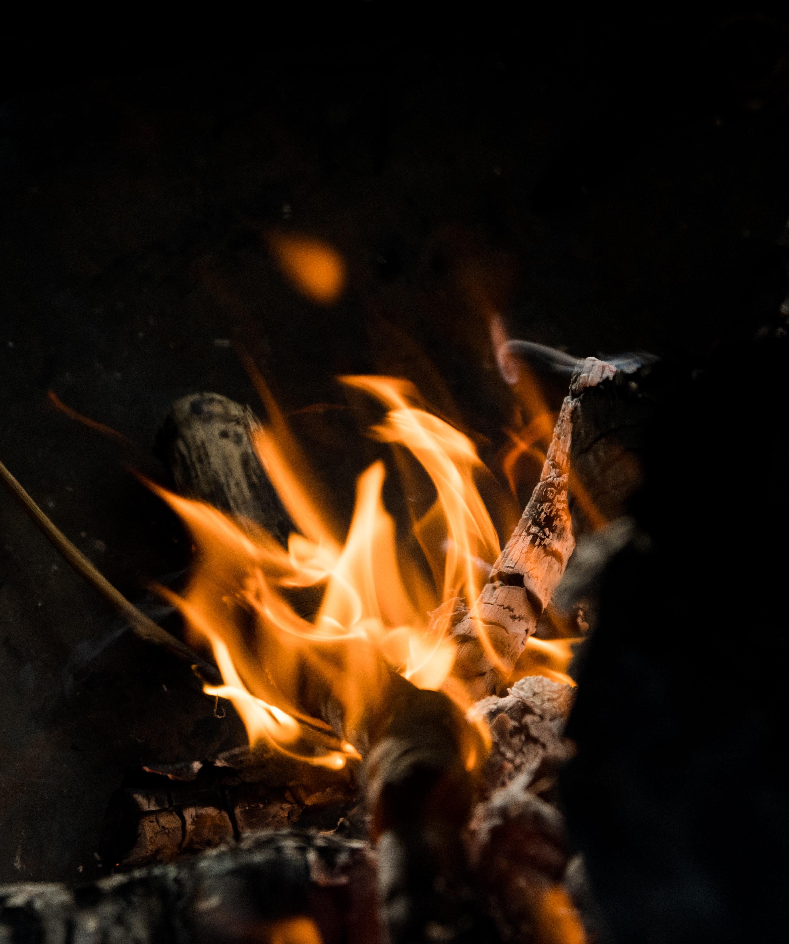 Background lửa cháy