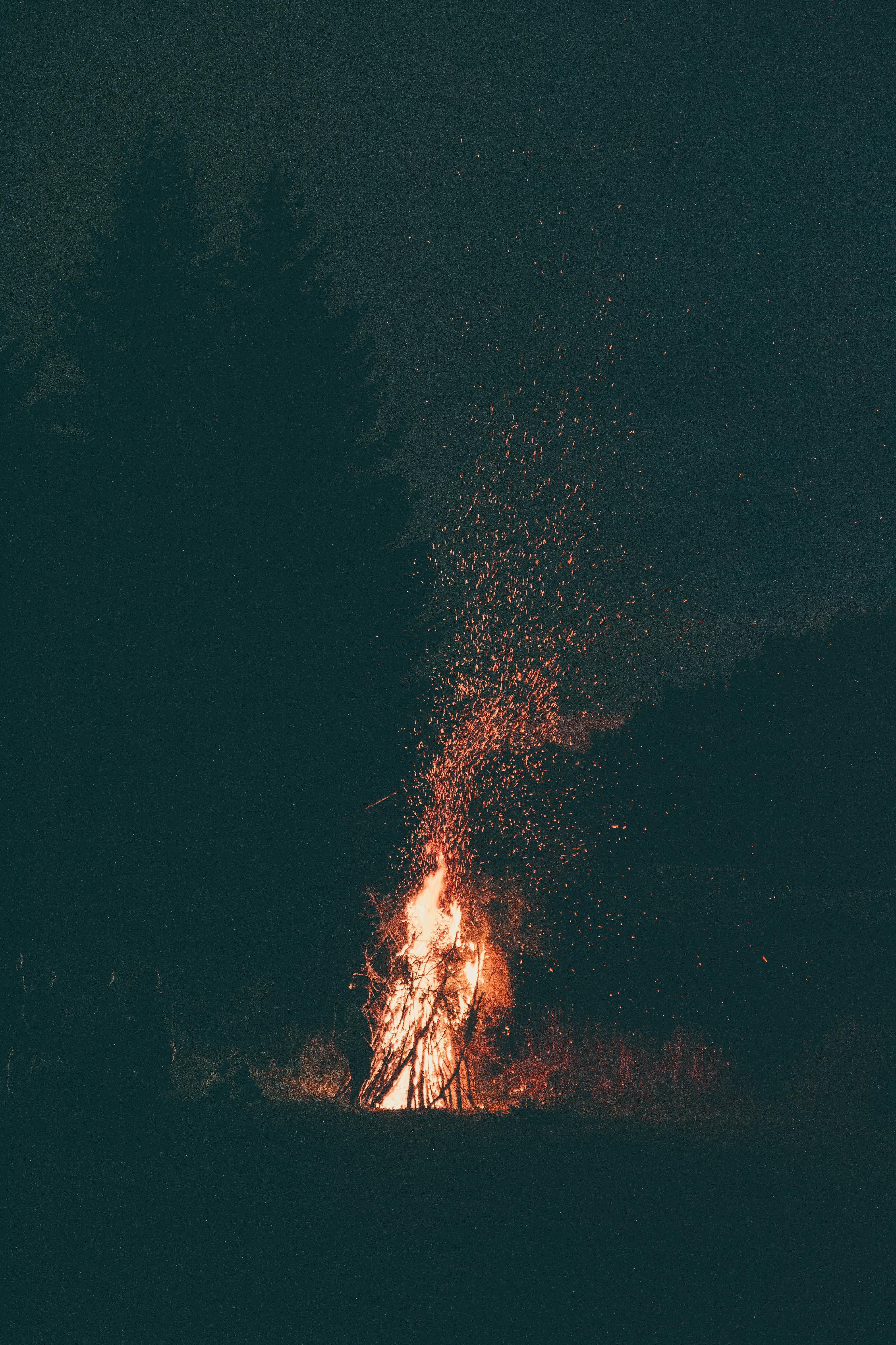 Background ngọn lửa đẹp