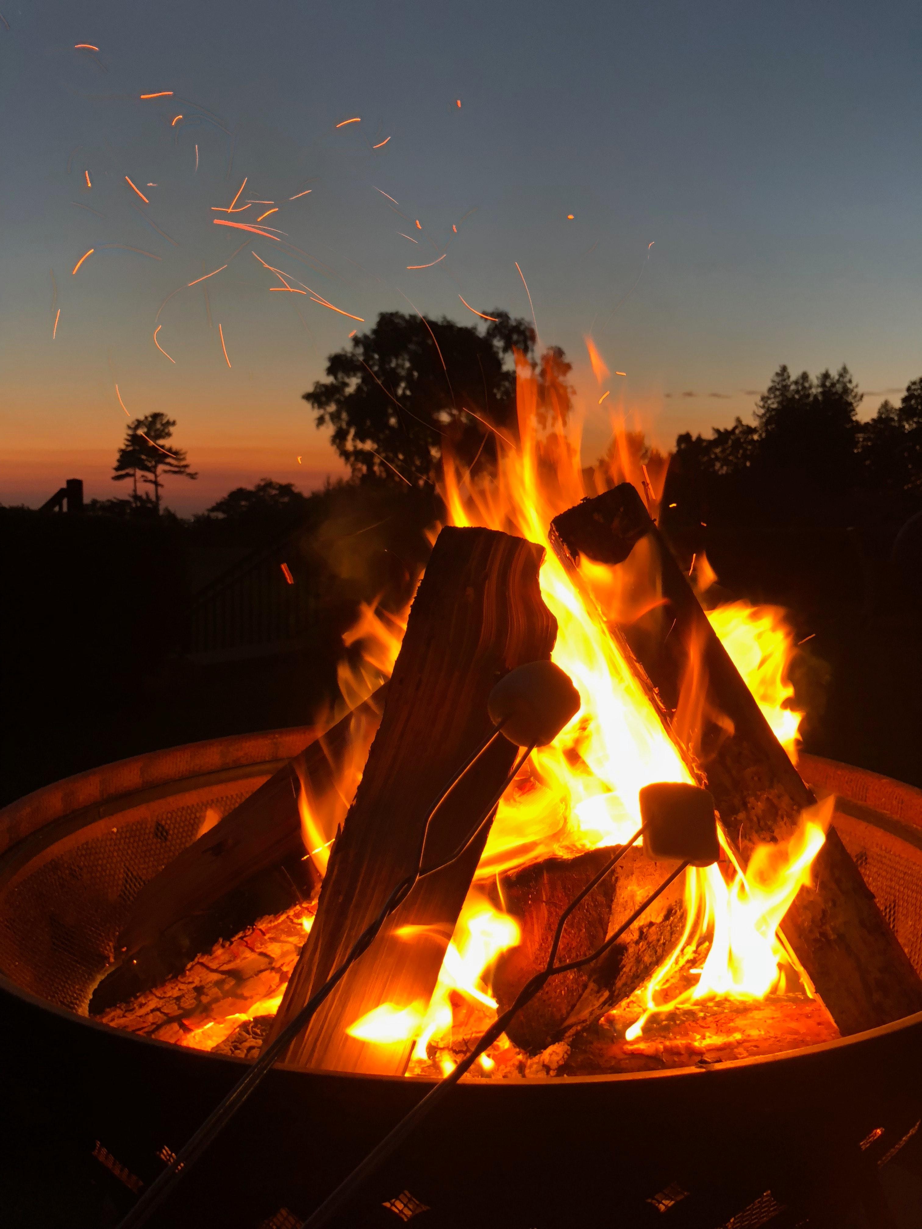 Background ngọn lửa đơn giản mà đẹp