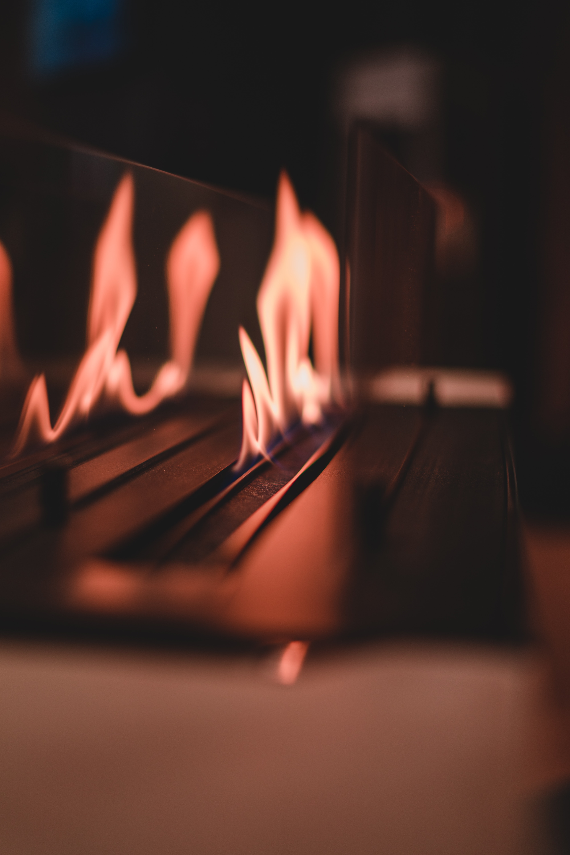Background ngọn lửa đơn giản