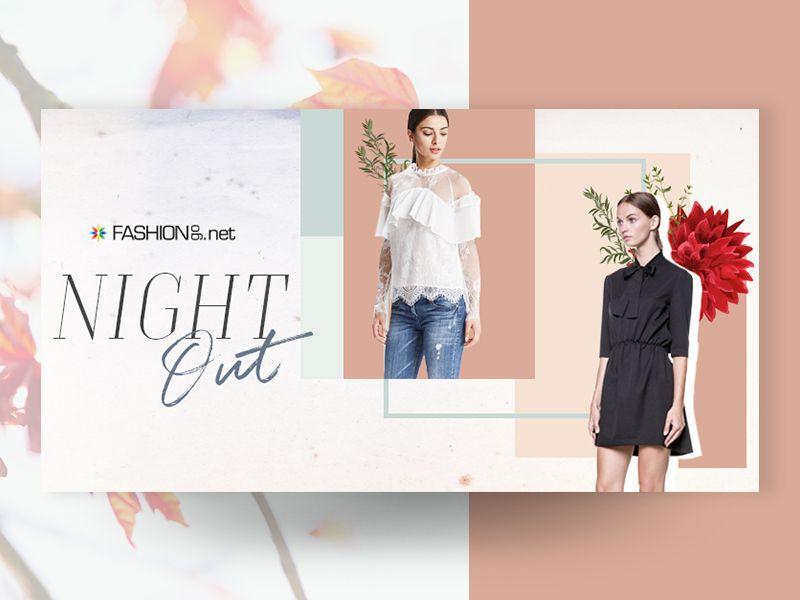 Banner thời trang đơn giản mà đẹp