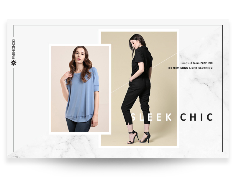 Banner thời trang nữ hiện đại