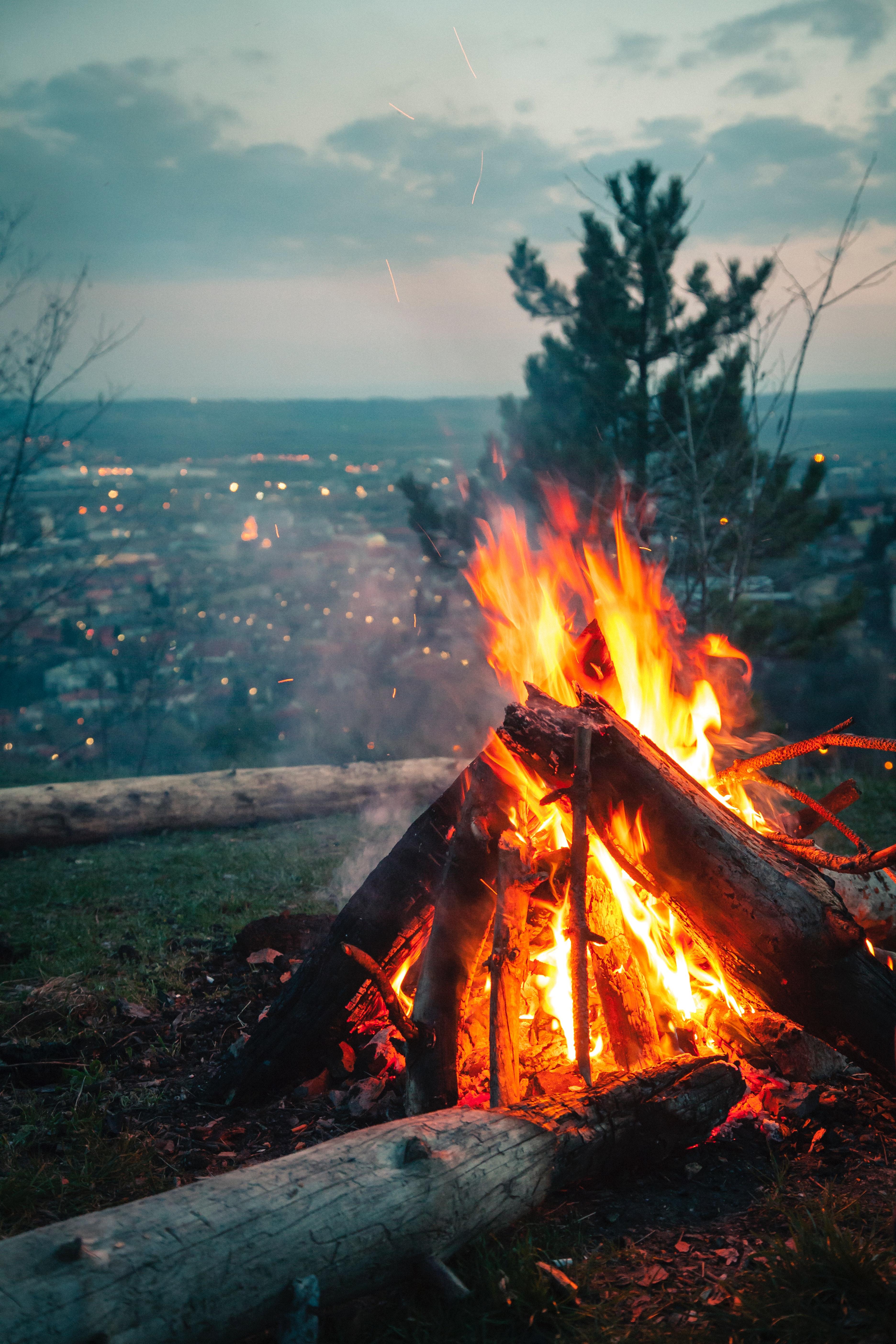 Hình ảnh Background lửa đẹp