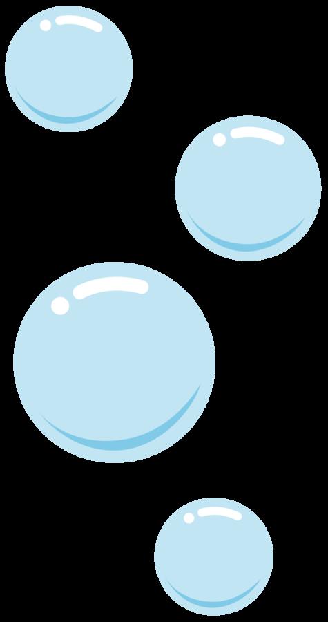 Ảnh bong bóng xanh 3D đẹp