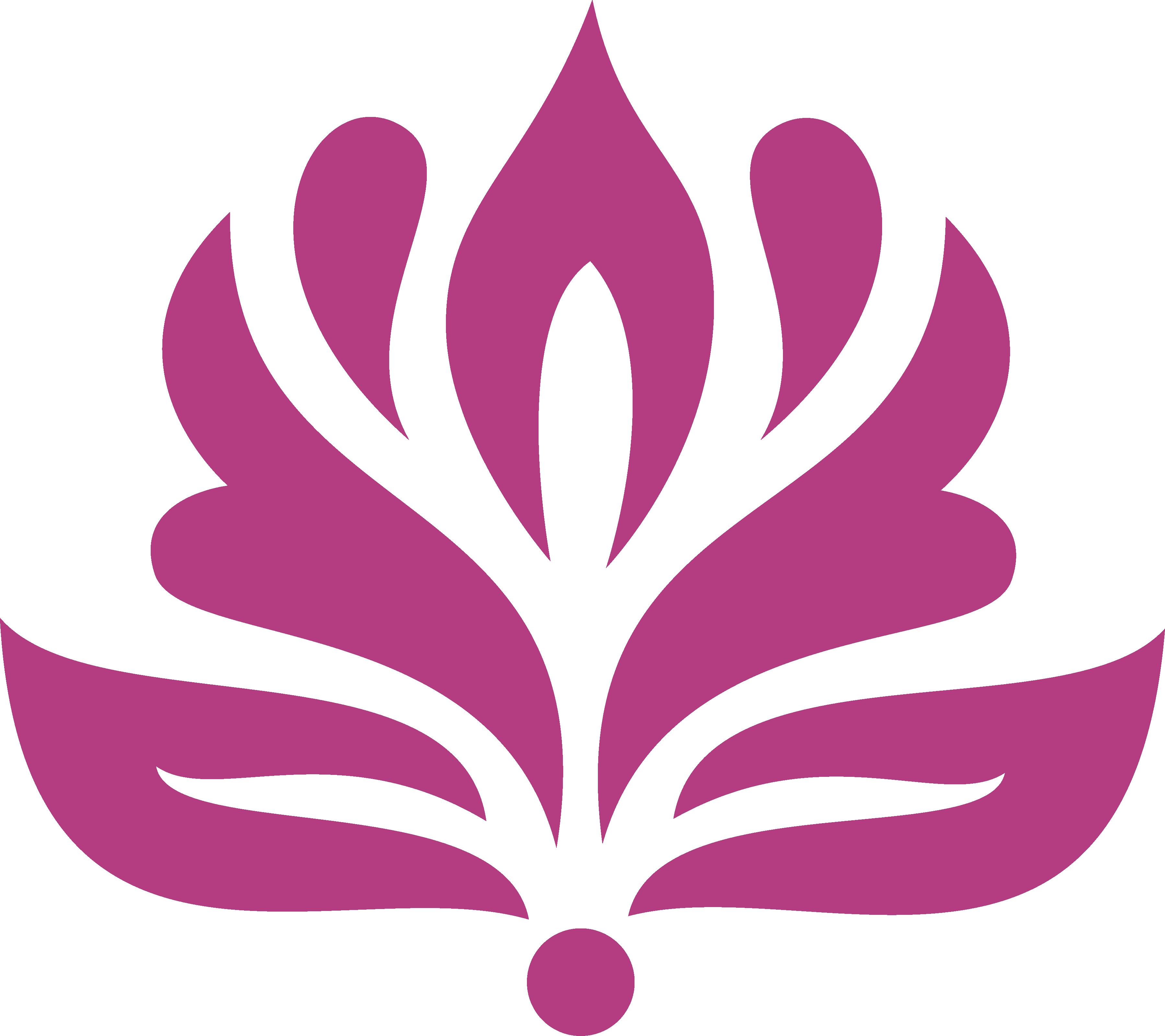 Ảnh mẫu logo hoa sen PNG