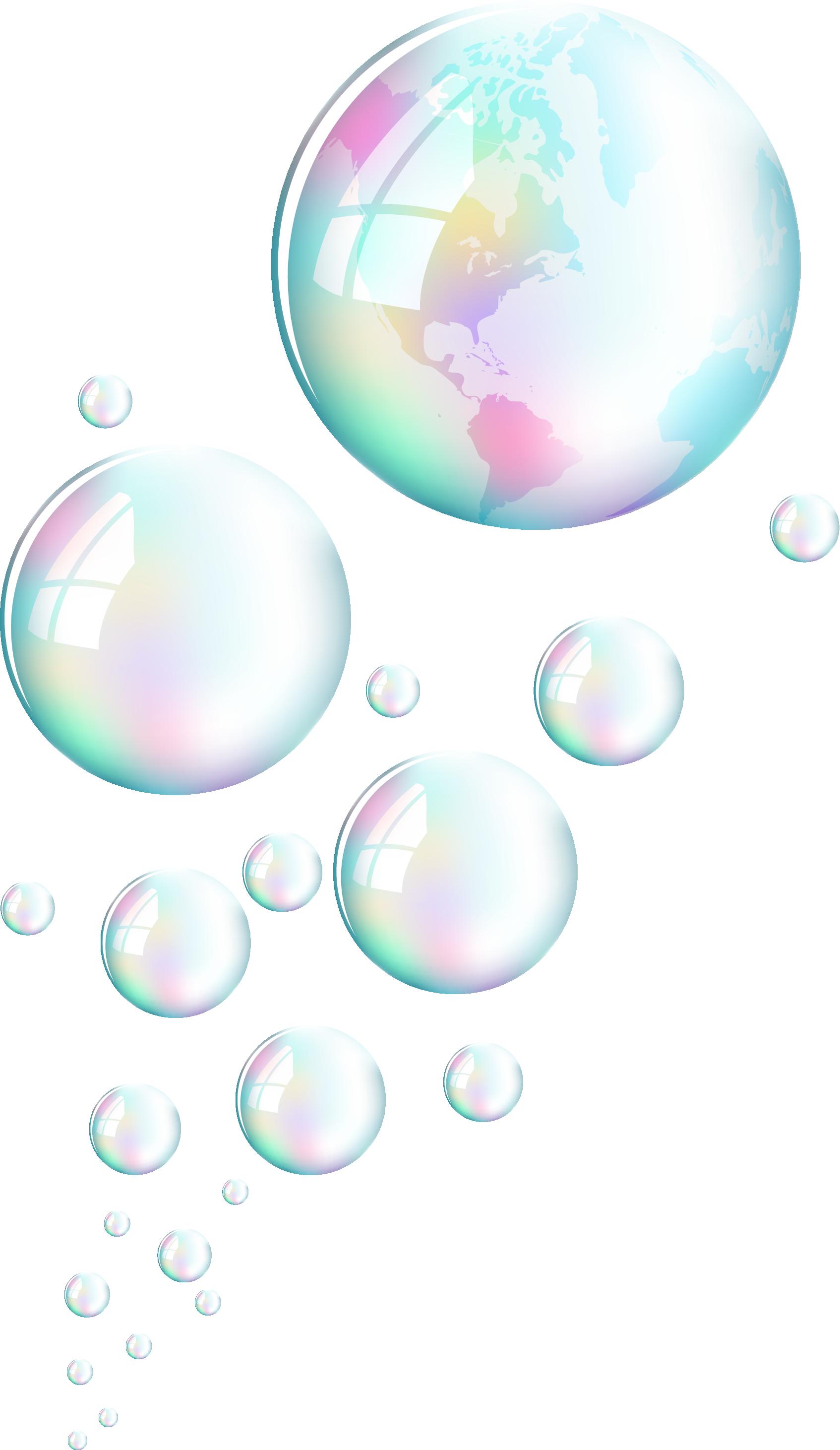 Hình ảnh bong bóng hình trái đất