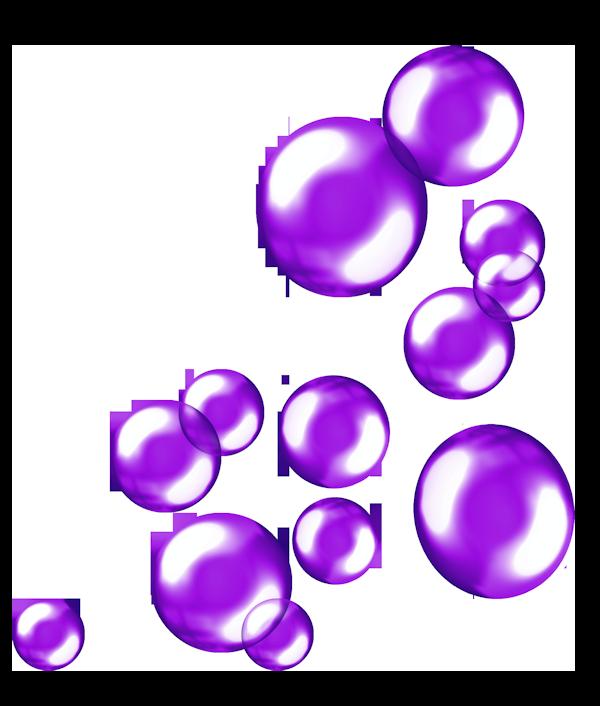Hình ảnh bong bóng tím