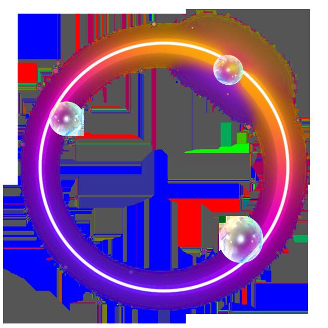 Hình ảnh bong bóng vòng tròn