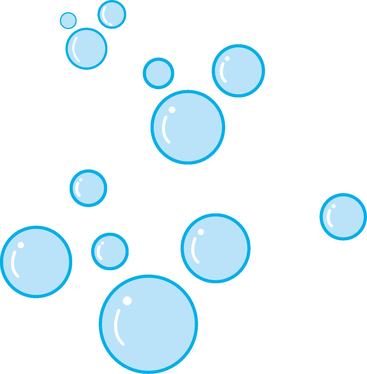 Hình ảnh bong bóng xanh nhỏ
