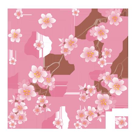 Hình ảnh bông hoa đào PNG
